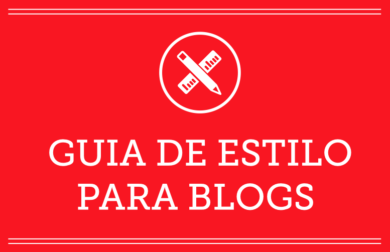 Guia de estilo para Blogs