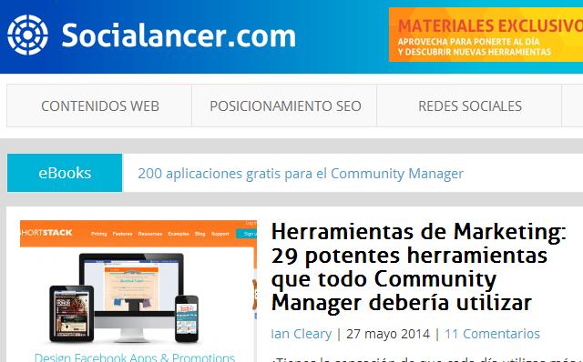 Blog socialancer