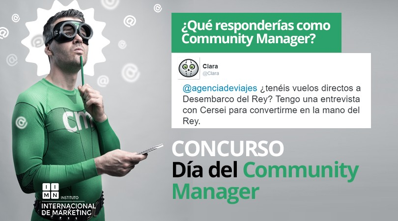 Concurso día del Community Manager