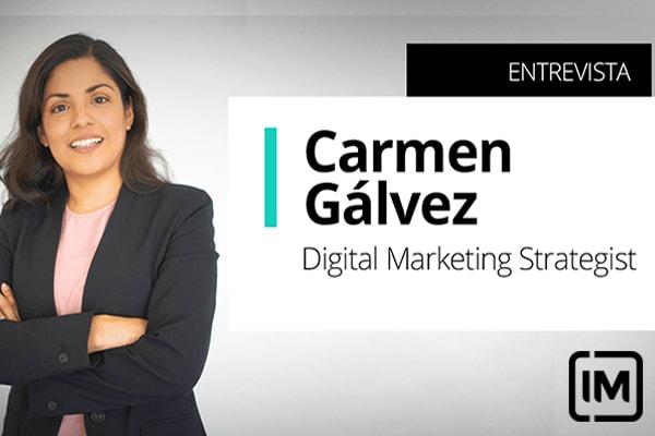 Carmen Gálvez, alumna peruana de IM y Digital Marketing Strategist