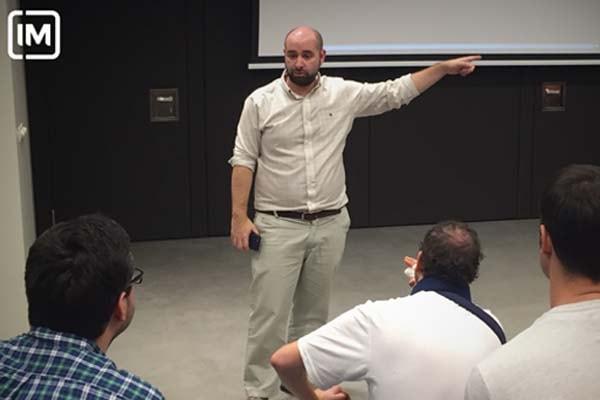 Un grupo de Imers visita las instalaciones de Havas en Madrid