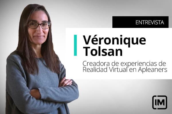 Véronique Tolsan, alumna de IM y creadora de Experiencias de Realidad Virtual en Apleaners