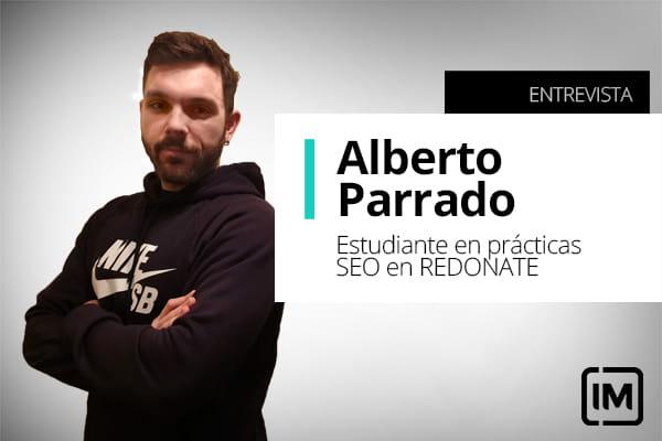 Alberto Parrado, alumno de IM y estudiante en prácticas SEO en RODANET Agencia Marketing Online