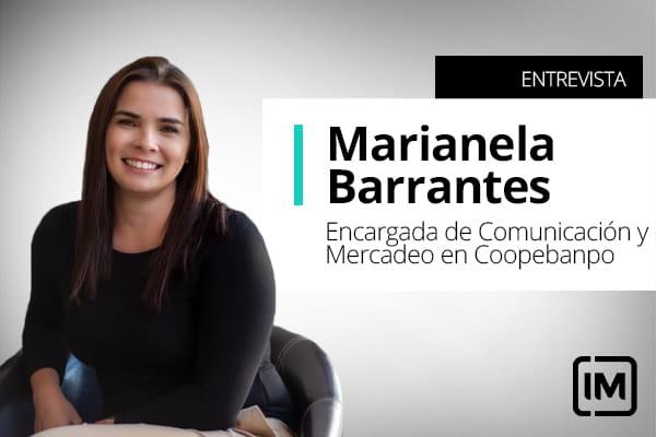 Marianela Barrantes, alumna de IM y Encargada de Comunicación y Mercadeo en Coopebanpo, Costa Rica