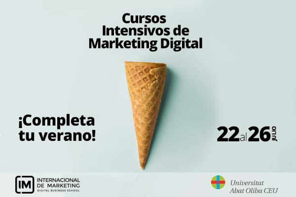 ¡Llegan los cursos Intensivos de verano de especialización en Inbound y Mobile Marketing!
